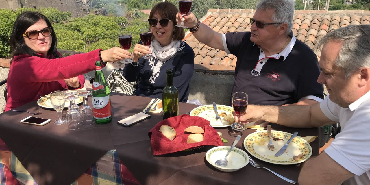 May 2018, unforgettable, amazing wine tour in Sicily