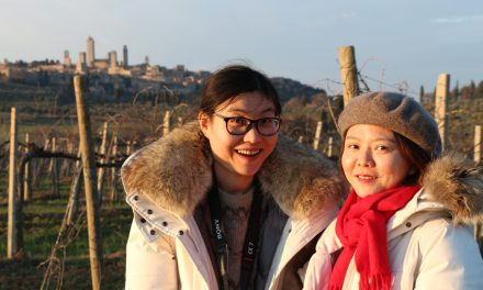 Feb. 2018, The DiVine wine tours' first Chinese clients