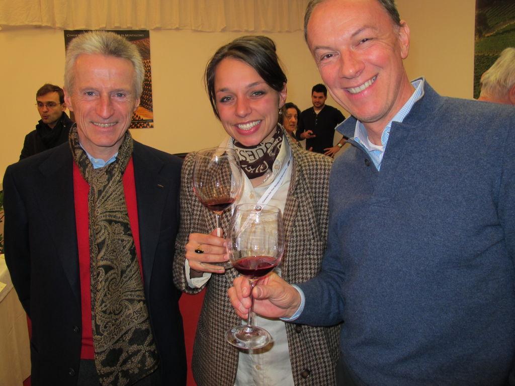 Kostelnikova con Illy-Mastroianni Martellozzo-Belpoggio benvenuto Brunello