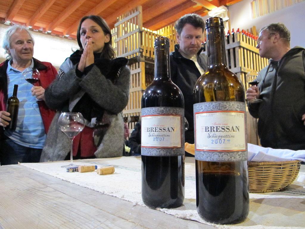 Organic biodynamic DiVine wine tours