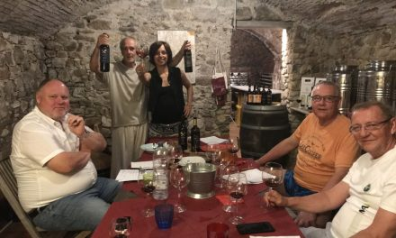 May 2019, The DiVine Wine Tour in Tuscany with buyers from Slovakia