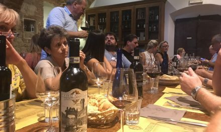 September 2019, The DiVine Wine Tour in Tuscany for a Czech company